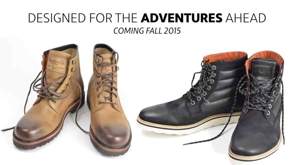 Hawkes footwearline for Fall 2015-big